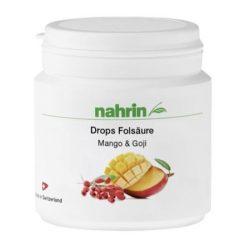 Nahrin Folsav Drops rágótabletta mangóval és goji bogyóval 60db