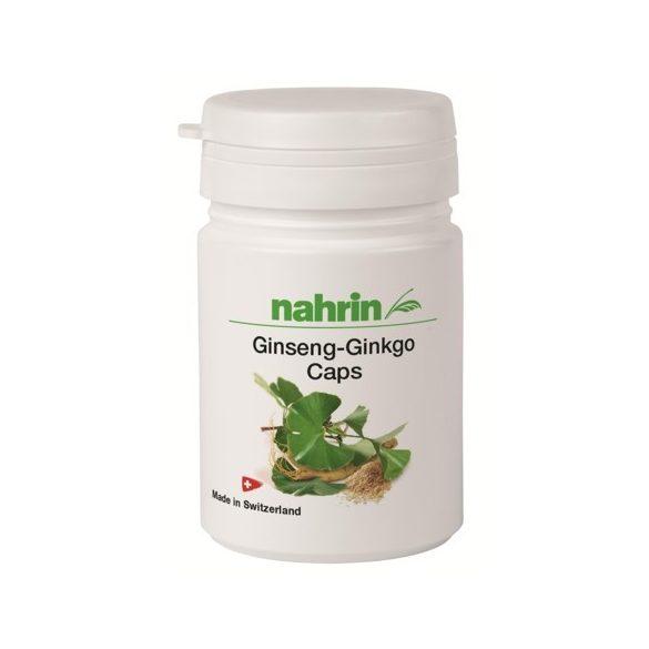 Nahrin Ginseng Ginkgo kapszula 30db