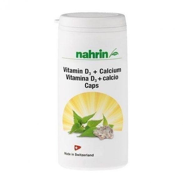 Nahrin D-vitamin kapszula kalciummal 60db