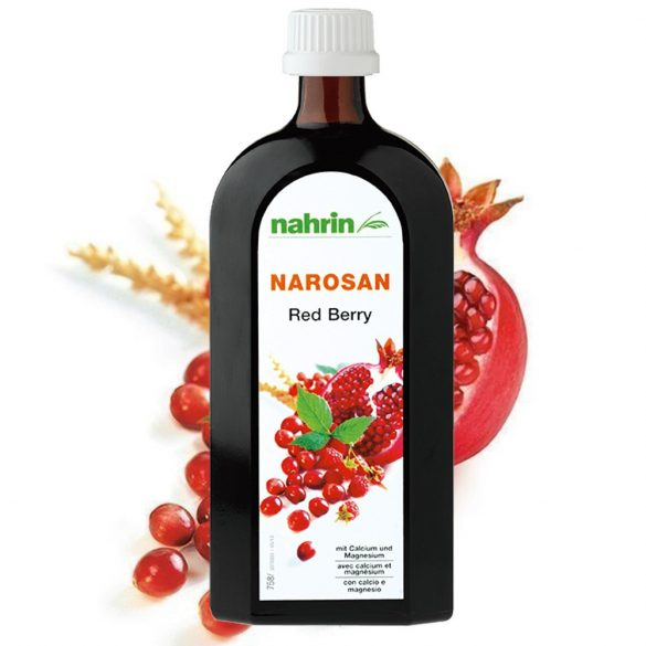Nahrin Narosan narancs vörös áfonya (Red Berry) koncentrátum 500ml
