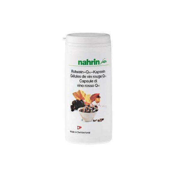 Nahrin Q10 kapszula vörösborral + E- és C-vitaminnal 28g